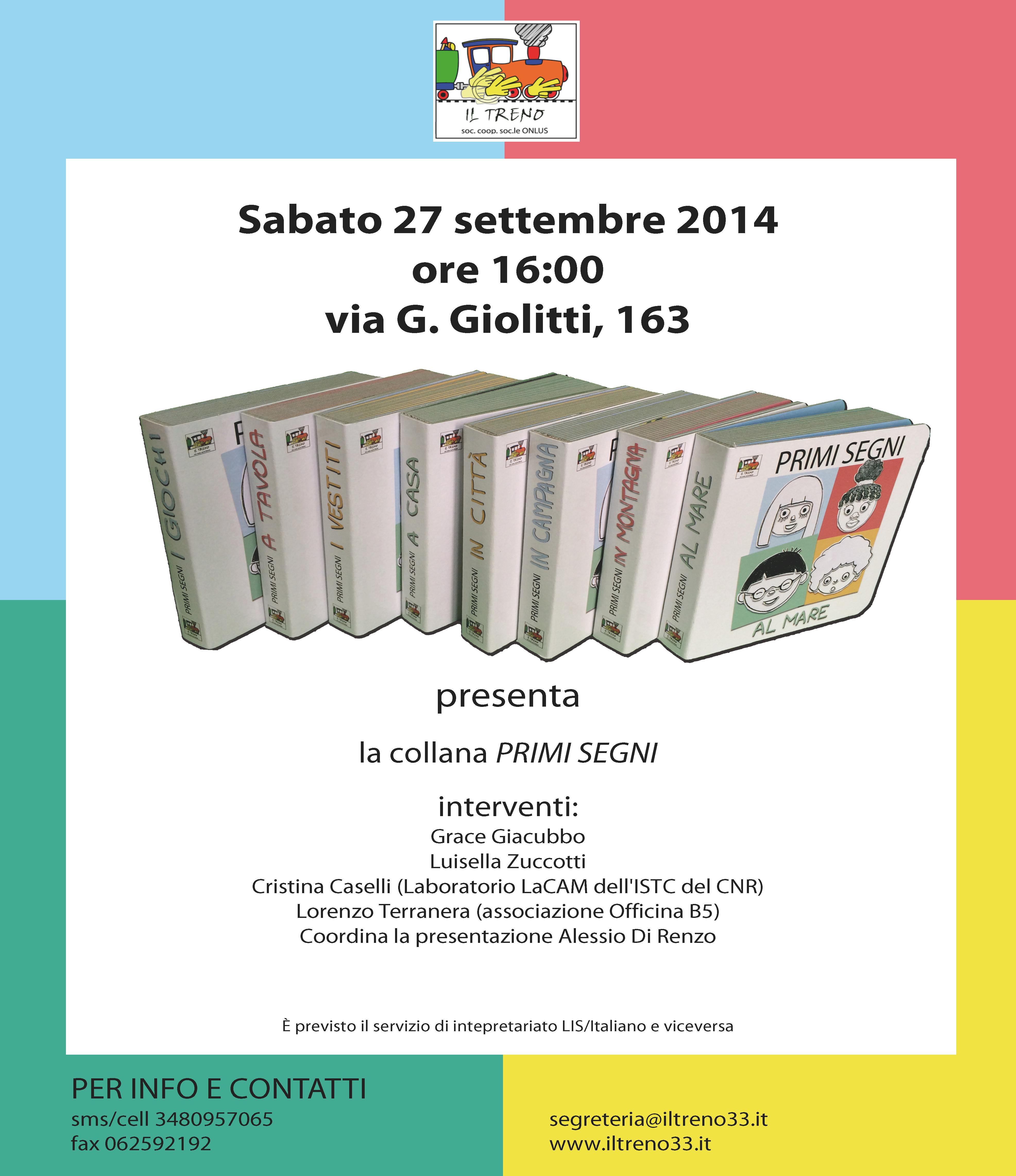 Presentazione Primi Segni a Roma