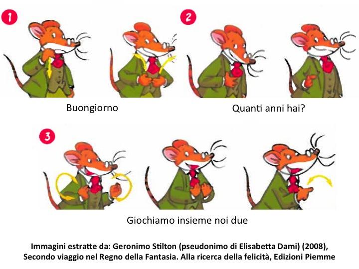 Immagini estratte da Geronimo Stilton (pseudonimo di Elisabetta Dami) (2008), Secondo viaggio nel Regno della Fantasia. Alla ricerca della felicita. Edizioni Piemme
